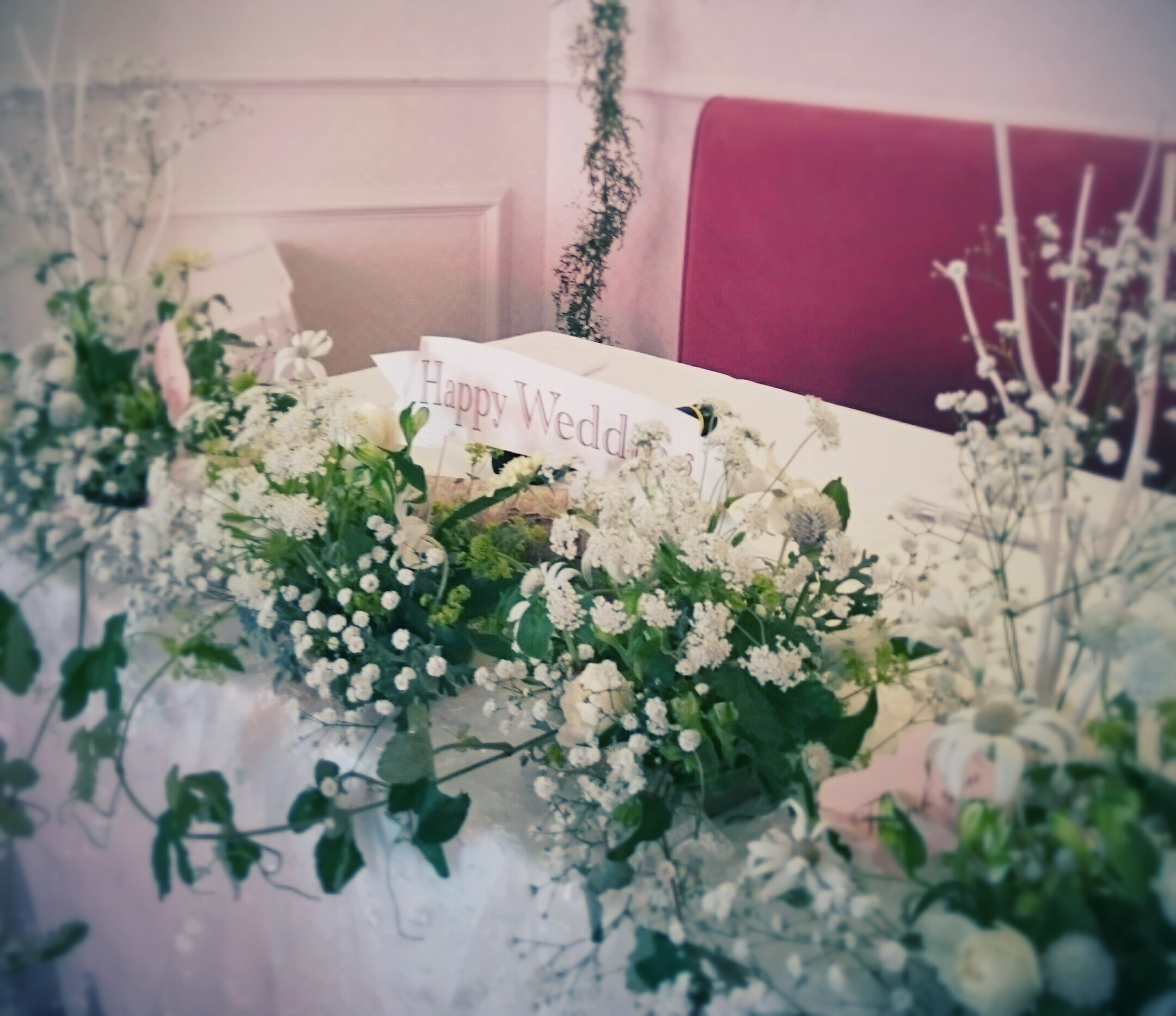 結婚式会場装花大分