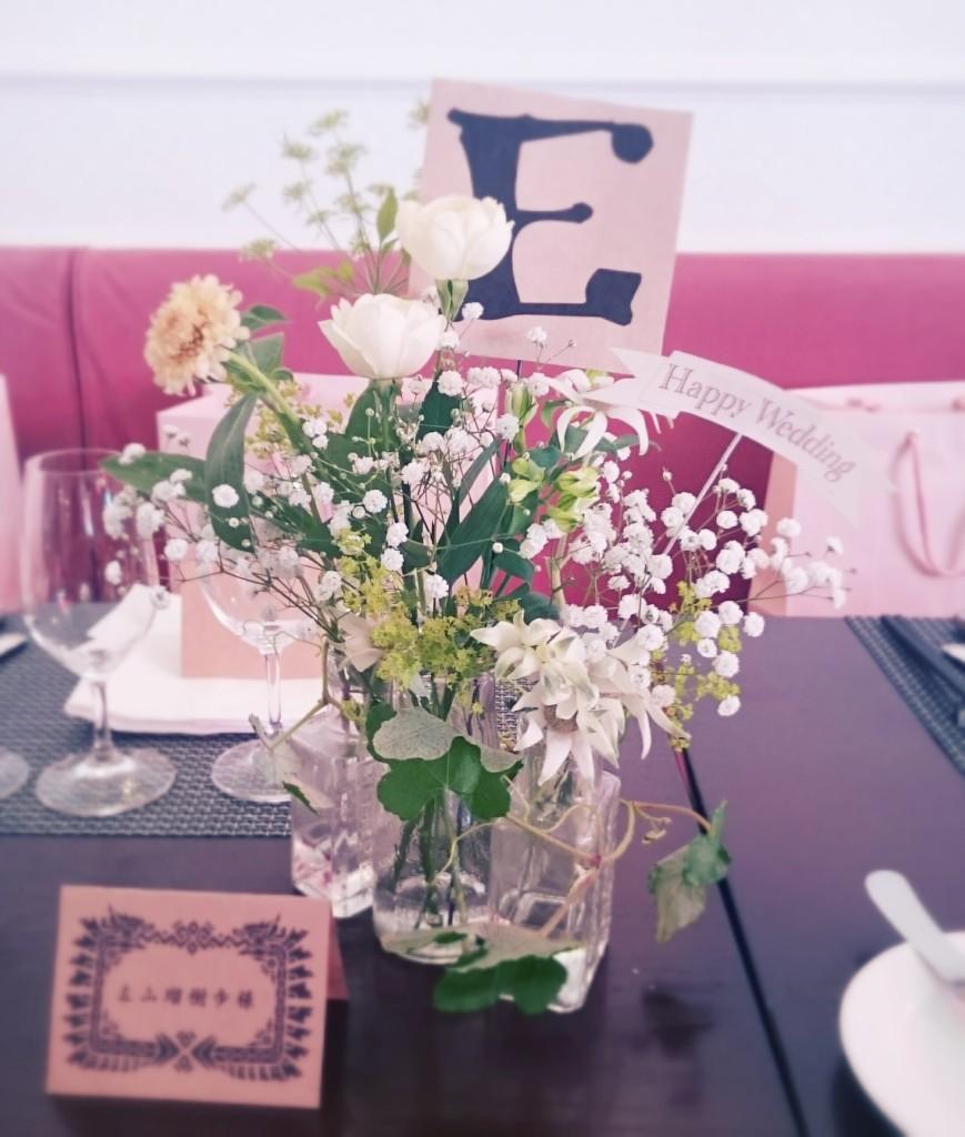 結婚式会場装花